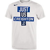 Nike Youth Creighton Bluejays 'Just Us' Bench T-Shirt