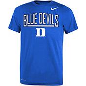 Nike Youth Duke Blue Devils Duke Blue Dri-FIT Legend T-Shirt