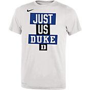 Nike Youth Duke Blue Devils 'Just Us' Bench T-Shirt