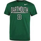 Nike Youth Dartmouth Big Green Dartmouth Green Dri-FIT Legend T-Shirt