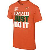 Nike Youth Florida A&M Rattlers Orange Dri-FIT Legend T-Shirt