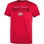 Nike Youth Ohio State Buckeyes Scarlet Dri-FIT Legend T-Shirt