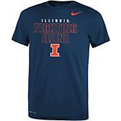 Nike Youth Illinois Fighting Illini Blue Dri-FIT Legend T-Shirt