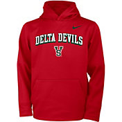 Nike Youth Mississippi Valley State Delta Devils Red Therma Pullover Hoodie