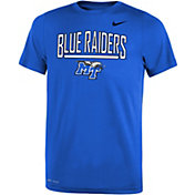 Nike Youth Middle Tennessee State Blue Raiders Blue Dri-FIT Legend T-Shirt