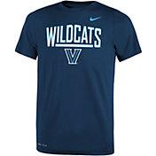 Nike Youth Villanova Wildcats Navy Dri-FIT Legend T-Shirt