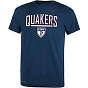 Nike Youth University of Pennsylvania Quakers Blue Dri-FIT Legend T-Shirt