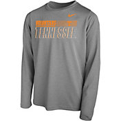 Nike Youth Tennessee Volunteers Grey Legend Long Sleeve Performance T-Shirt