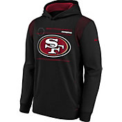 Nike Youth San Francisco 49ers Black Therma Pullover Hoodie
