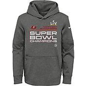 Nike Youth Super Bowl LV Champions Tampa Bay Buccaneers Locker Room Hoodie