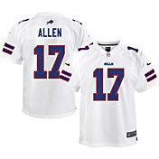 Nike Youth Buffalo Bills Josh Allen #17 White Game Jersey