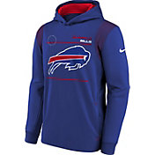 Nike Youth Buffalo Bills Old Royal Therma Pullover Hoodie