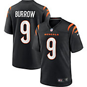 Nike Youth Cincinnati Bengals Joe Burrow #9 Black Game Jersey