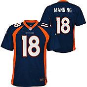 Nike Youth Denver Broncos Peyton Manning #18 Navy Game Jersey