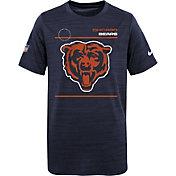 Nike Youth Chicago Bears Sideline Legend Velocity Navy T-Shirt