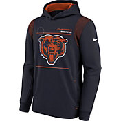 Nike Youth Chicago Bears Marine Therma Pullover Hoodie