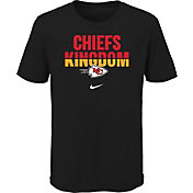 Nike Youth Kansas City Chiefs Local Split Black T-Shirt