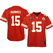 Nike Youth Kansas City Chiefs Patrick Mahomes #15 Super Bowl LV Bound Game Jersey