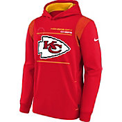 Nike Youth Kansas City Chiefs University Red Therma Pullover Hoodie