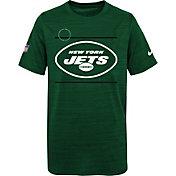 Nike Youth New York Jets Sideline Legend Velocity Green T-Shirt
