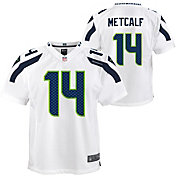 Nike Youth Seattle Seahawks DK Metcalf #14 White Game Jersey