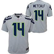 Nike Youth Seattle Seahawks DK Metcalf #14 Grey Alternate Game Jersey