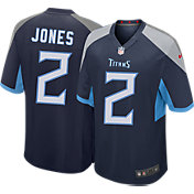 Nike Youth Tennessee Titans Julio Jones #2 Navy Game Jersey