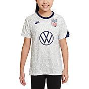 Nike Youth USA Soccer VW White Prematch Jersey