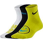Nike Kids' Everyday Lightweight Ankle Socks - 3 Pack