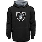 NFL Team Apparel Little Boys' Las Vegas Raiders Black Prime Pullover Hoodie