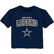 NFL Team Apparel Infant's Dallas Cowboys Navy Born 2 Be T-Shirt