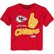 NFL Team Apparel Little Kid's Kansas City Chiefs Red Lil' Fan T-Shirt