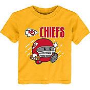 NFL Team Apparel Little Kid's Kansas City Chiefs Gold Poki T-Shirt