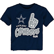 NFL Team Apparel Little Kid's Dallas Cowboys Navy Lil' Fan T-Shirt