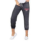 Concepts Sport Women's Kansas City Chiefs Charcoal Capri Pants