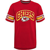 NFL Team Apparel Youth Kansas City Chiefs Red Victorious T-Shirt