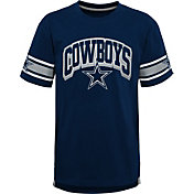 NFL Team Apparel Youth Dallas Cowboys Victorious Navy T-Shirt