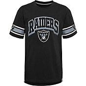NFL Team Apparel Youth Las Vegas Raiders Black Victorious T-Shirt