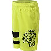 New Balance Boys' Jersey Basketball Shorts