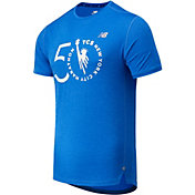 New Balance Men's NYC Marathon Impact Run Short Sleeve Shirt