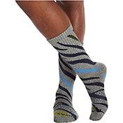 Bombas Men's All Over Zebra Calf Socks