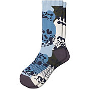 Bombas Men's Leopard Calf Socks