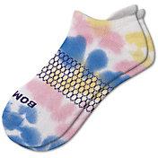 Bombas Women's Stripe Tie Dye Ankle Socks
