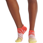 Bombas Women's Zebra Triblock Ankle Sock