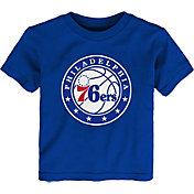 Outerstuff Little Kid's Philadelphia 76ers Royal Logo T-Shirt