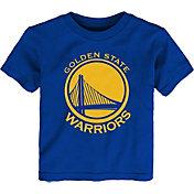 Outerstuff Little Kid's Golden State Warriors Royal Logo T-Shirt