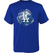 Outerstuff Youth Los Angeles Dodgers Royal Logo T-Shirt