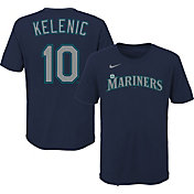 Outerstuff Youth Seattle Mariners Jarred Kelenic #10 Navy T-Shirt