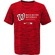 Outerstuff Youth Washington Nationals Velocity Red Practice T-Shirt