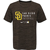 Outerstuff Youth San Diego Padres Velocity Brown Practice T-Shirt